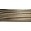 Soft Flex Wire .024 Dia. 30 Ft . 49 Strand Golden Bronze
